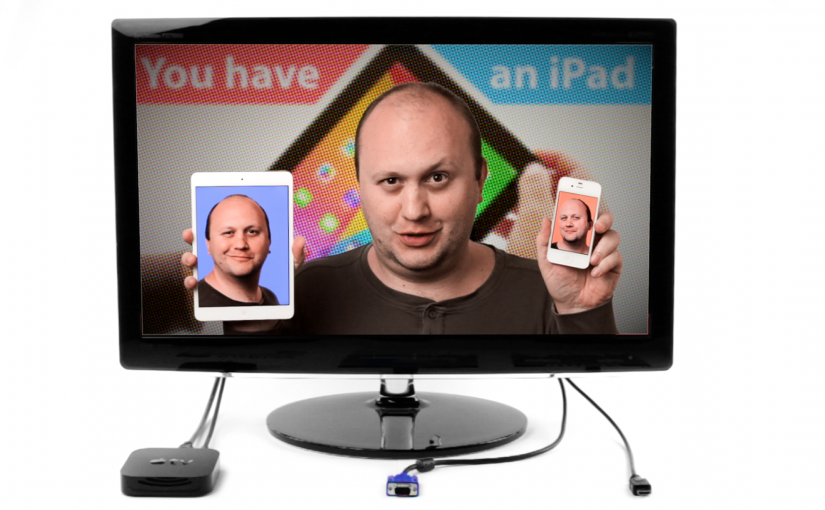 Connecting the iPhone and iPad to TV: three ways compared!