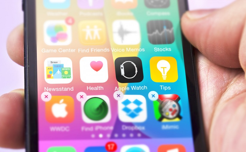 Hiding Apple Watch, Newsstand or Tips apps on iPhone (you can't delete)