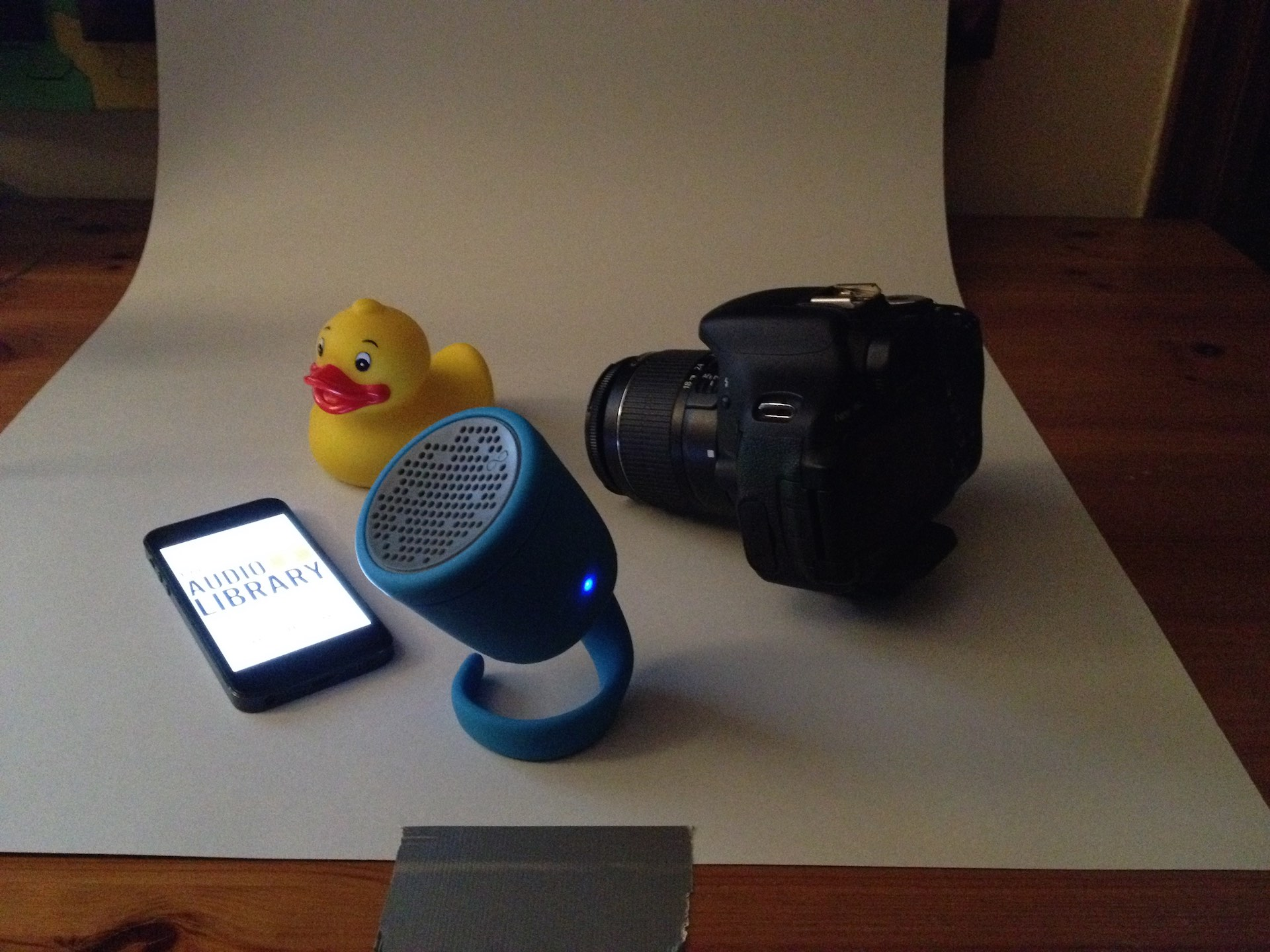 Boom Swimmer, iPhone 5 and my Rubber Duck