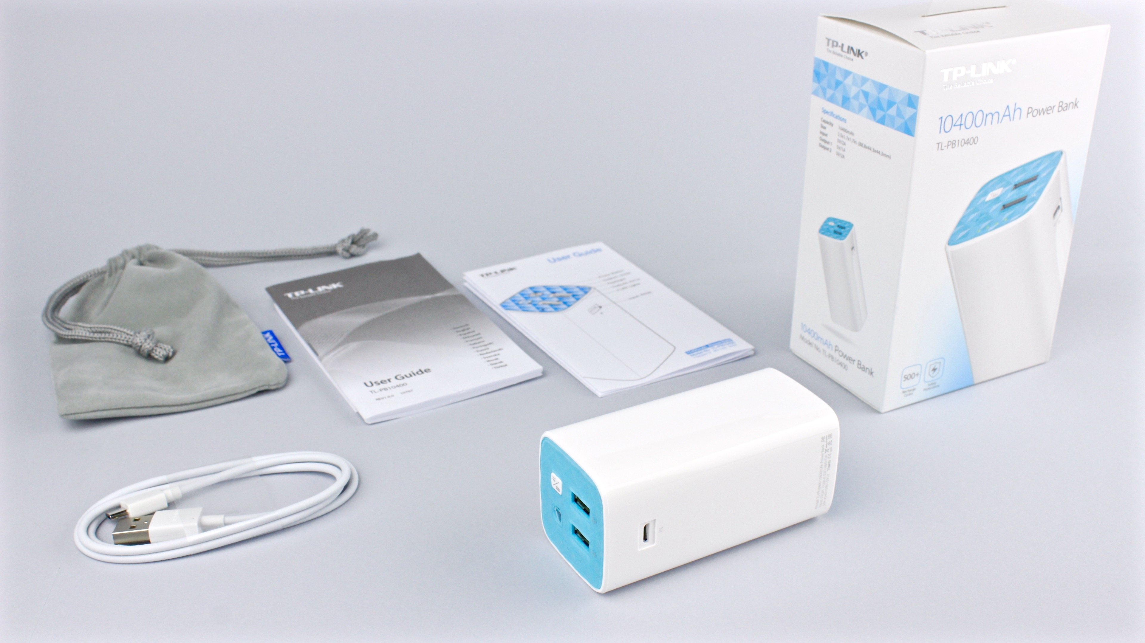 TL-PB10400: High capacity Power Bank from TP-Link